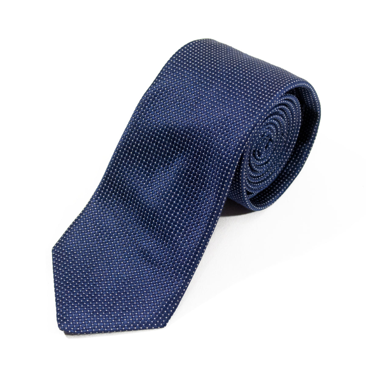Ted Baker Endurance Dark Grey Micro Check Tie