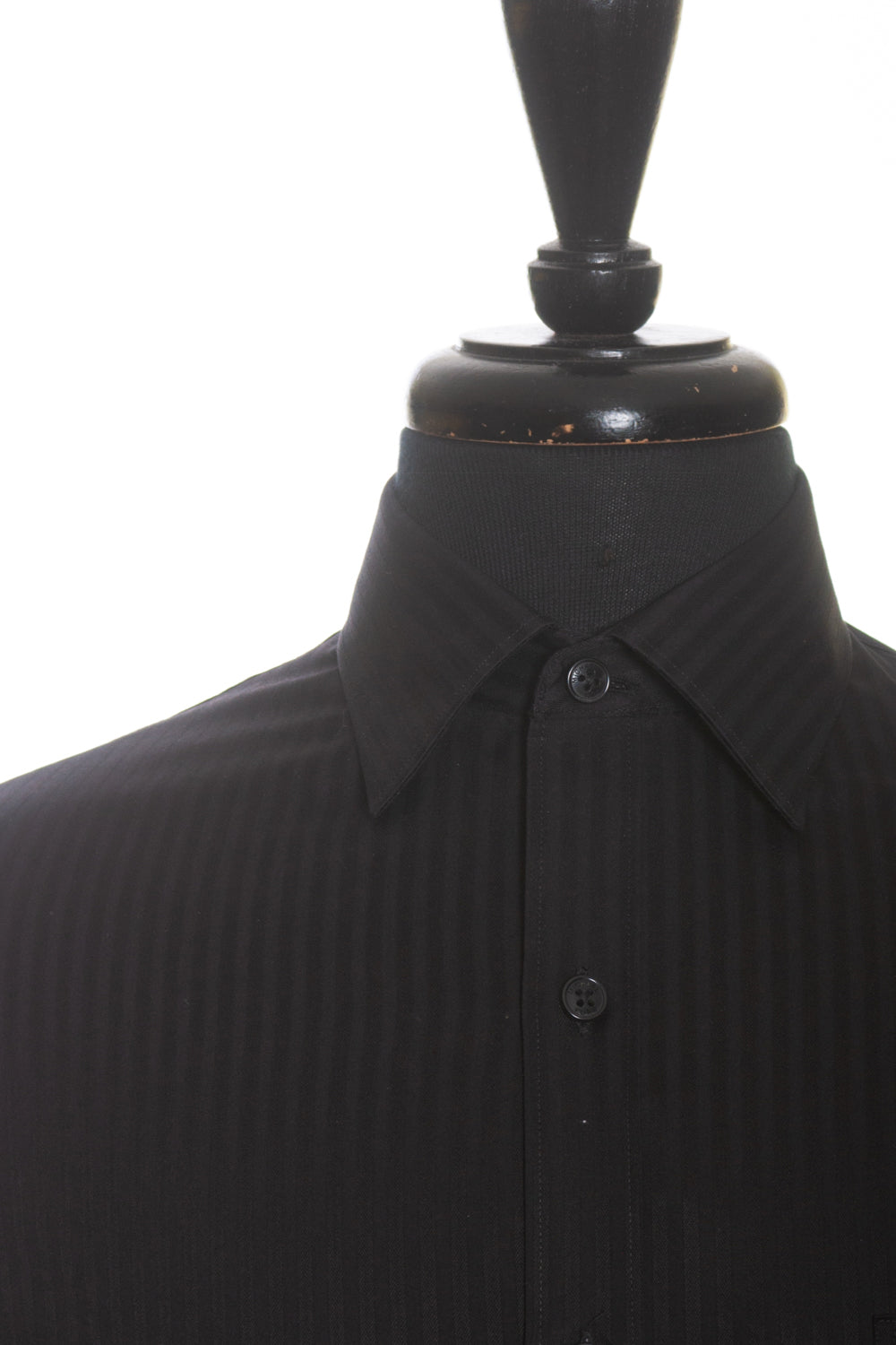 Michael Kors NWT Black Tonal Stripe Shirt for Luxmrkt.com Menswear Consignment Edmonton