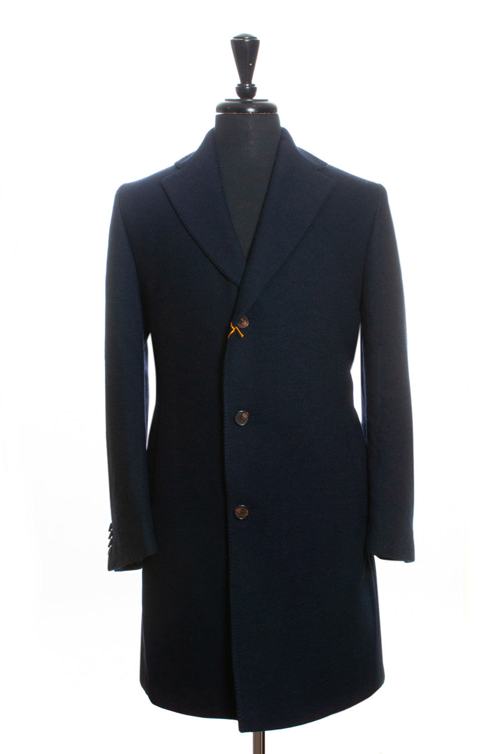 Etro NWT Navy Blue Wool Coat for Luxmrkt.com Menswear Consignment Edmonton