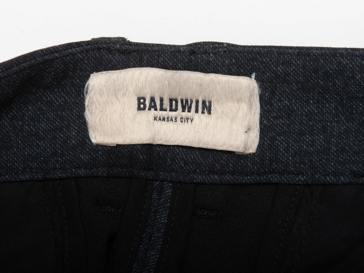 Baldwin Dark Grey Casual Pants for Luxmrkt.com Menswear Consignment Edmonton