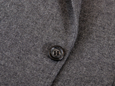 Faconnable Grey Cashmere Blend Tweed Blazer for Luxmrkt.com Menswear Consignment Edmonton