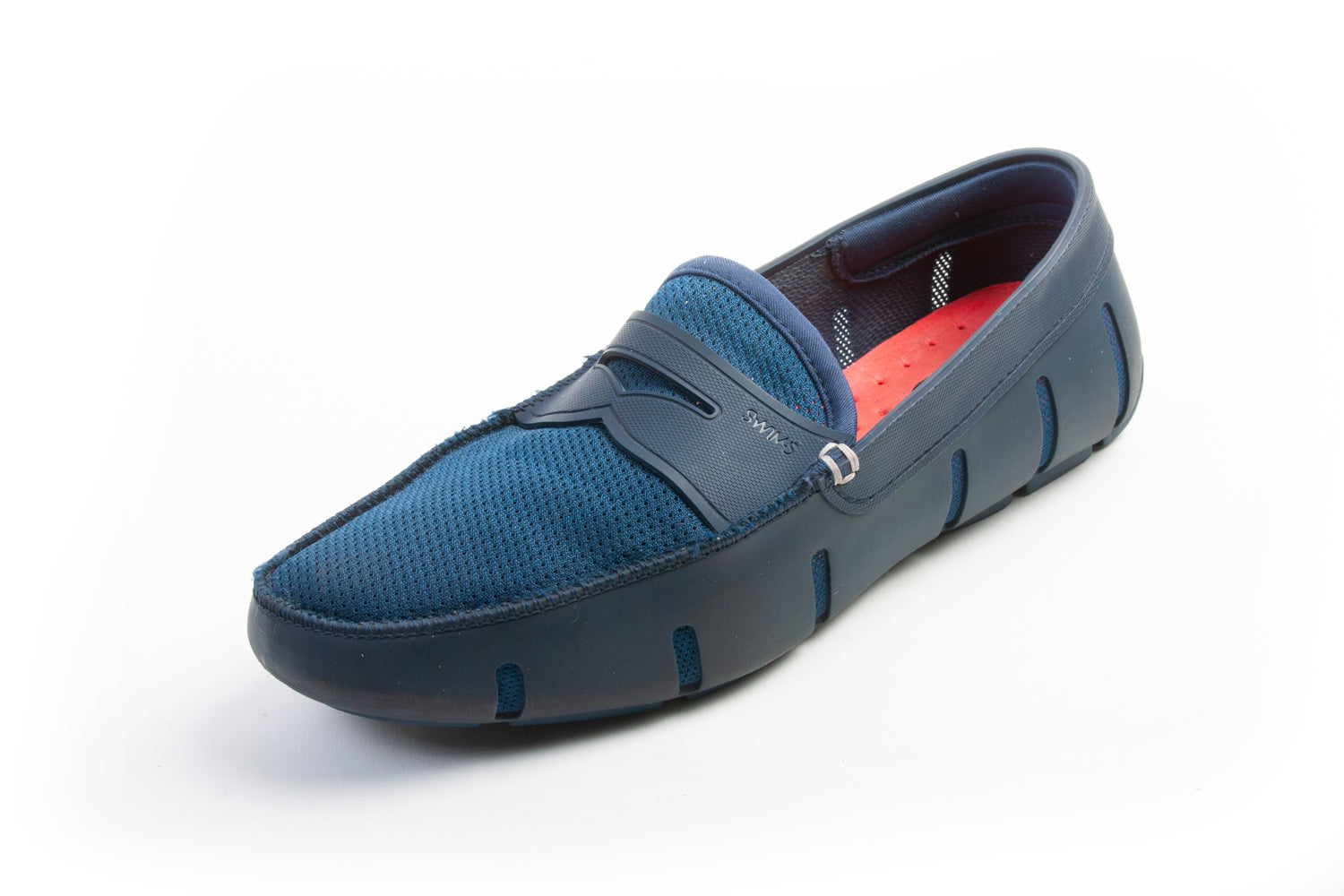 Swims Blue Penny Loafer for Luxmrkt.com Menswear Consignment Edmonton