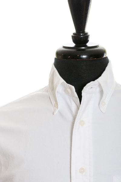 Gitman Vintage Love New York White Oxford Cloth Button Down Shirt for Luxmrkt.com Menswear Consignment Edmonton