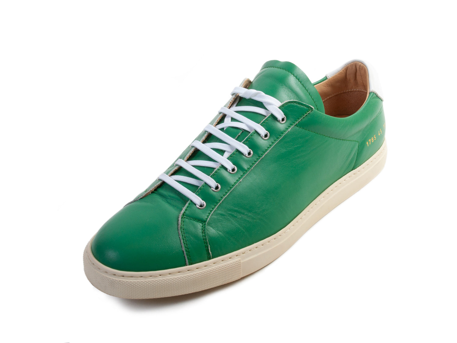 Common Projects Achilles Low in Green for Luxmrkt.com Menswear Consignment Edmonton