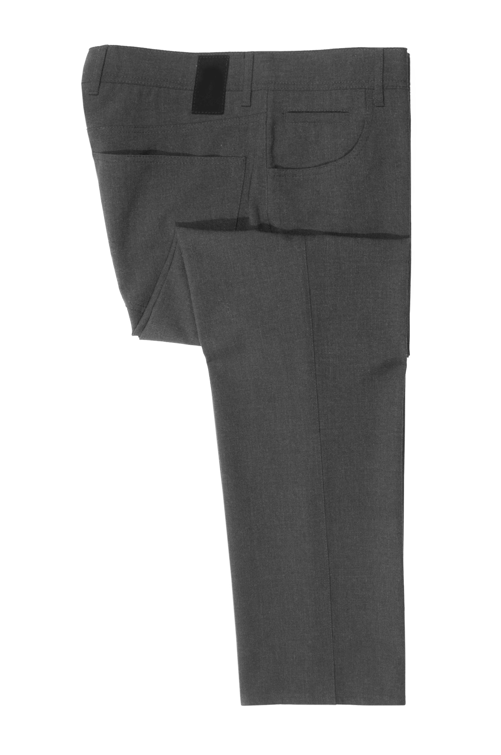 Alberto Dark Grey Stone Ceramica Modern Fit Pants for Luxmrkt.com Menswear Consignment Edmonton