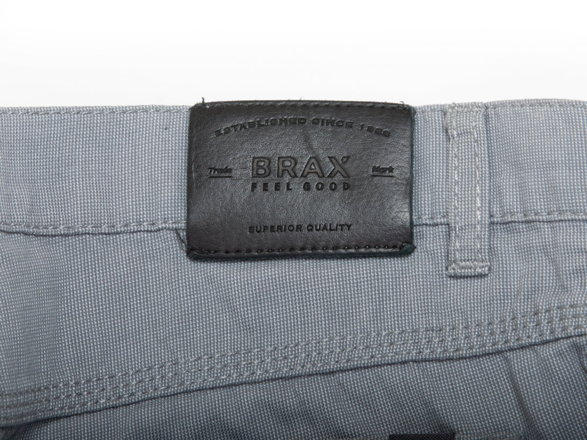 Brax Grey Cooper Regular Fit Pants for Luxmrkt.com Menswear Consignment Edmonton