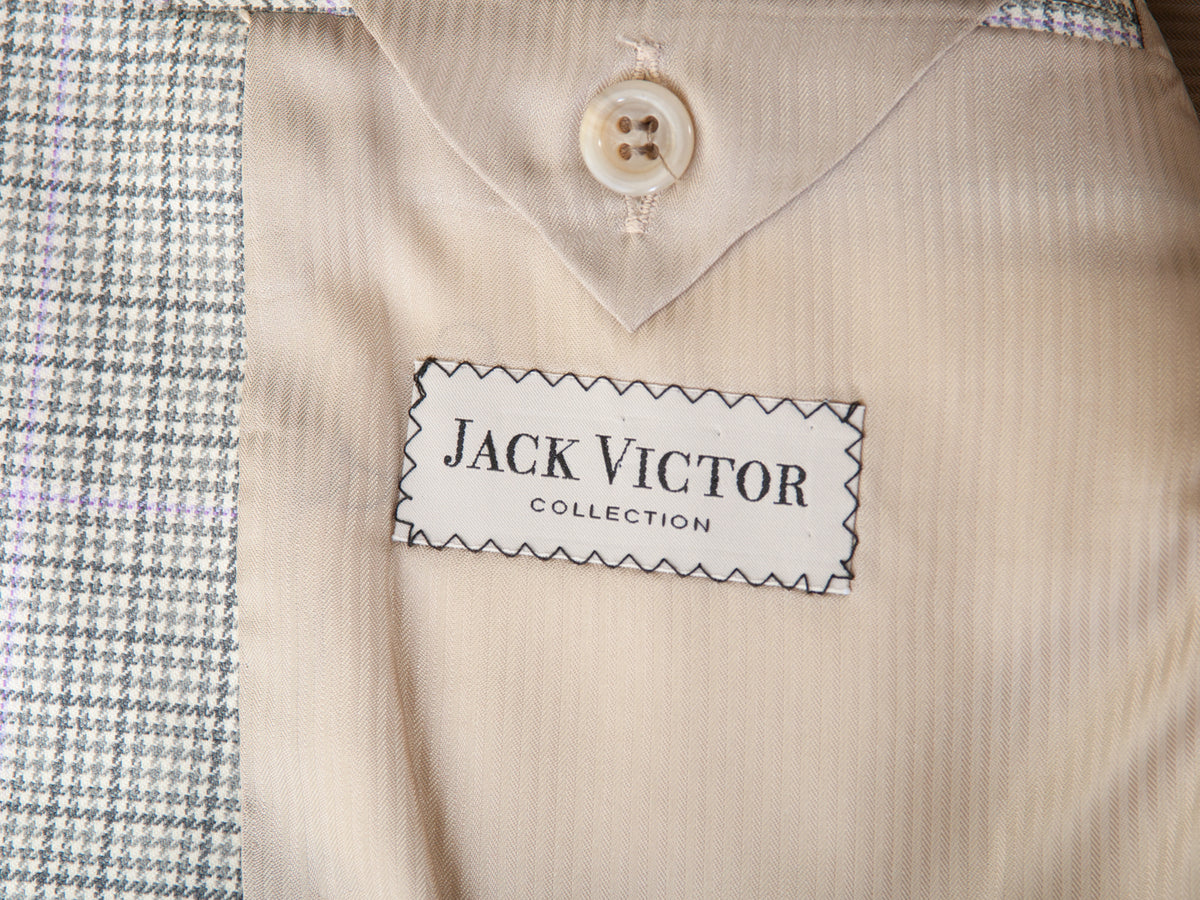 Jack Victor Collection Green Check Super 120s Verowood Blazer for Luxmrkt.com Menswear Consignment Edmonton