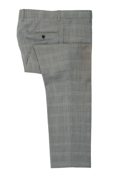Etro Grey Check Wool Suit for Luxmrkt.com Menswear Consignment Edmonton