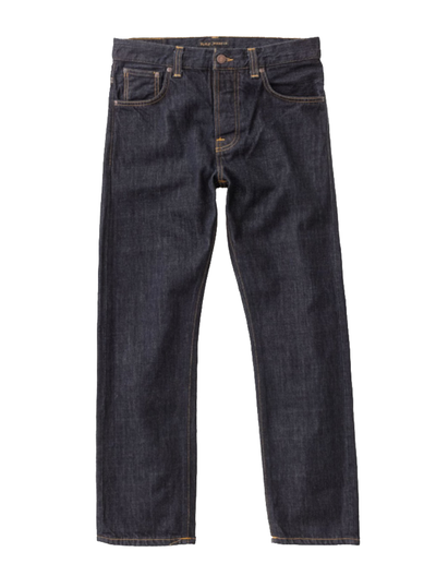 Nudie NWT Sleepy Sixten Rinsed Button Fly Jeans