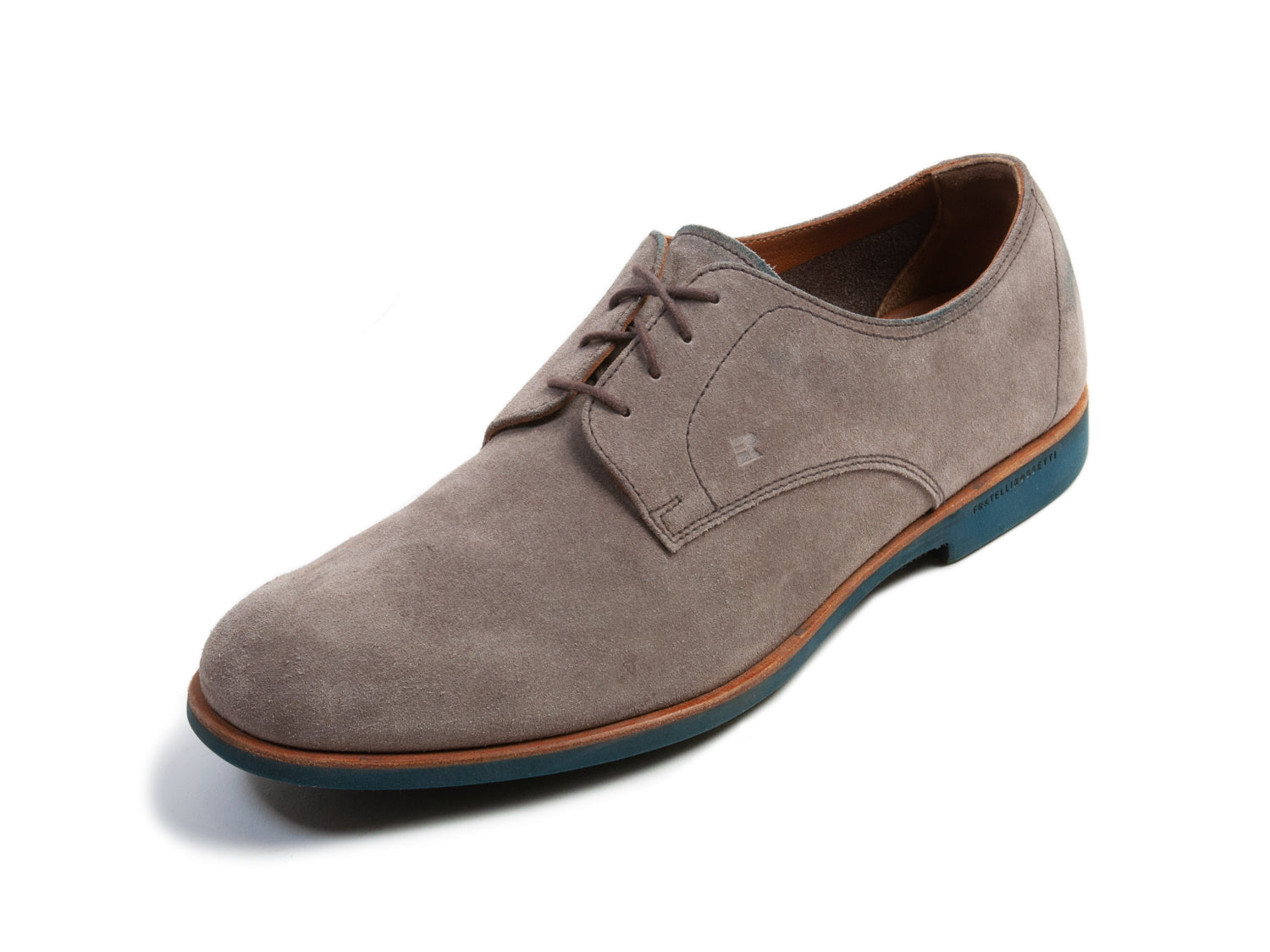 Fratelli Rossetti One Light Brown Suede Shoes for Luxmrkt.com Menswear Consignment Edmonton