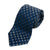 Sam Abouhassan Blue Check Silk Tie for Luxmrkt.com Menswear Consignment Edmonton