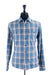 Michael Kors Blue Plaid Casual Shirt