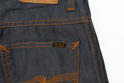 Nudie Jeans Regular Ralf Grey Indigo Canvas Jeans
