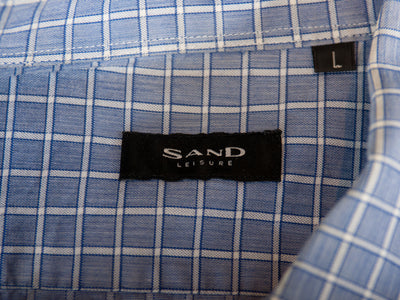 Sand Copenhagen Blue Check Shirt
