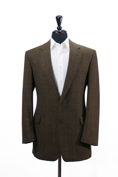 Cambridge Green Check Wool Blazer