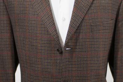 Cambridge Brown Check Wool Blazer
