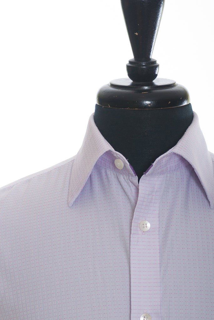 Ted Baker London Pink Patterned Tailored Fit Shirt