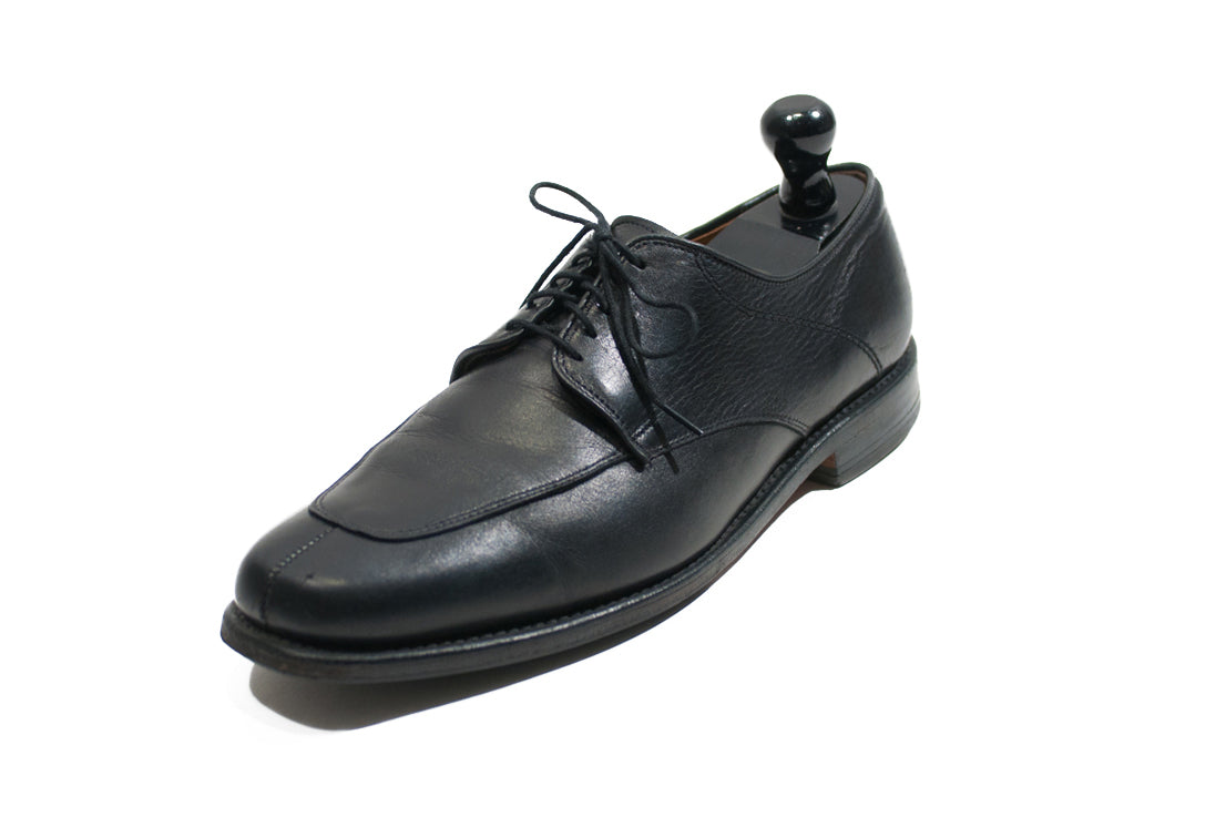 Allen Edmonds Denton Black Split Toe Derby Shoes