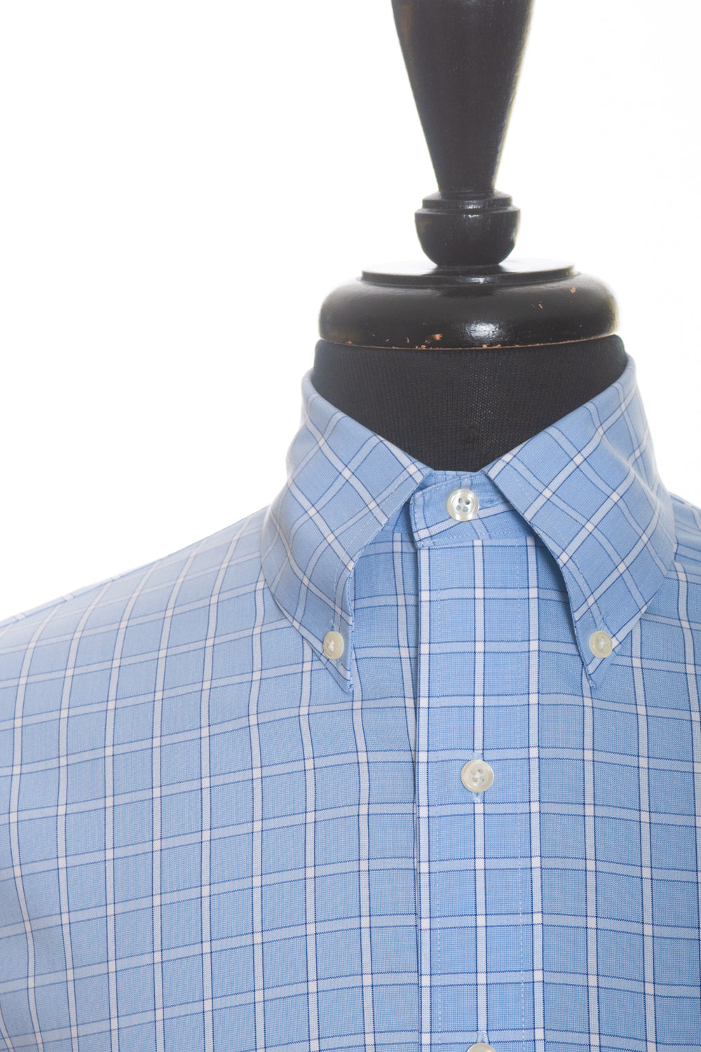 Brooks Brothers Blue Check Original Polo Shirt for Luxmrkt.com Menswear Consignment Edmonton