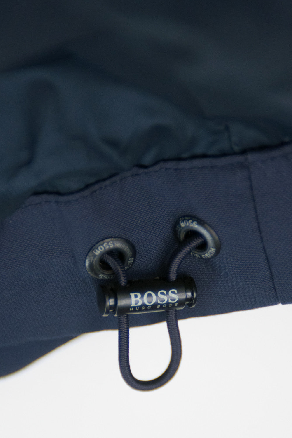 Hugo Boss Navy Blue Camillo Coated Canvas  for Luxmrkt.com mens consignment Edmonton.