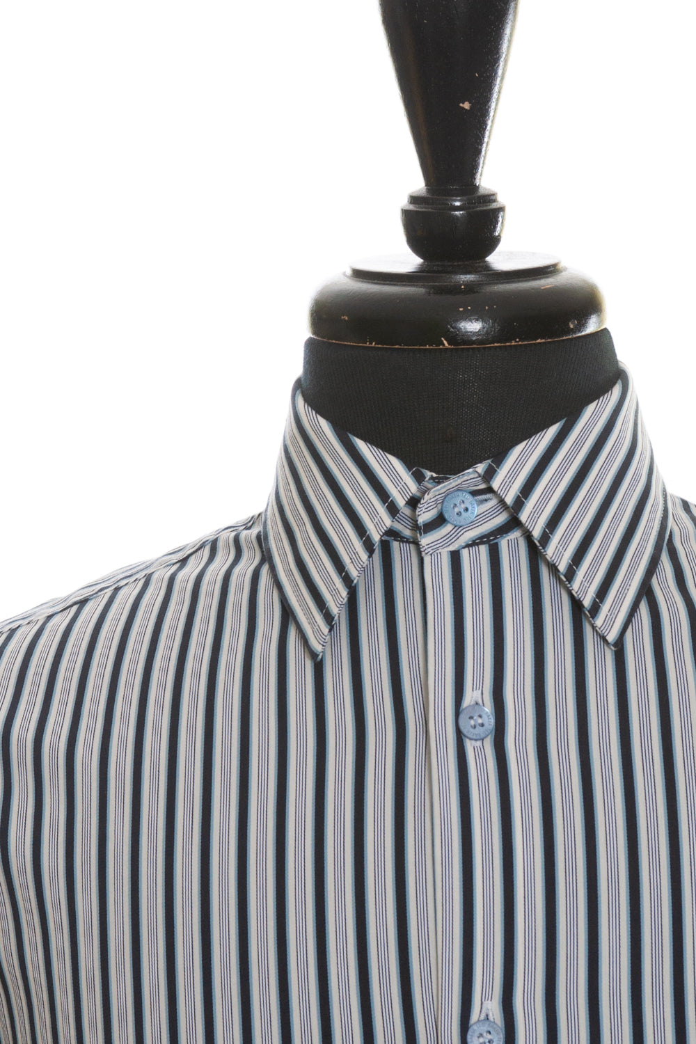 Ted Baker Navy Blue Striped French Cuff Shirt