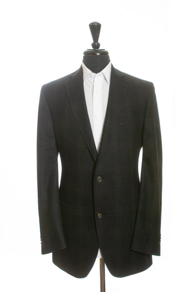 Jack Victor Prossimo Grey Check Melrosewood Blazer for Luxmrkt.com Menswear Consignment Edmonton