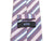 Hugo Boss Purple Striped Silk Tie Made in Italy Luxmrkt.com menswear consignment Edmonton.