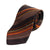 Hugo Boss Brown Striped Silk Tie. Luxmrkt.com menswear consignment Edmonton.