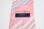 Altea Milano Pink Striped Silk Tie