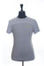 Hugo Boss Grey Striped Cotton T-Shirt