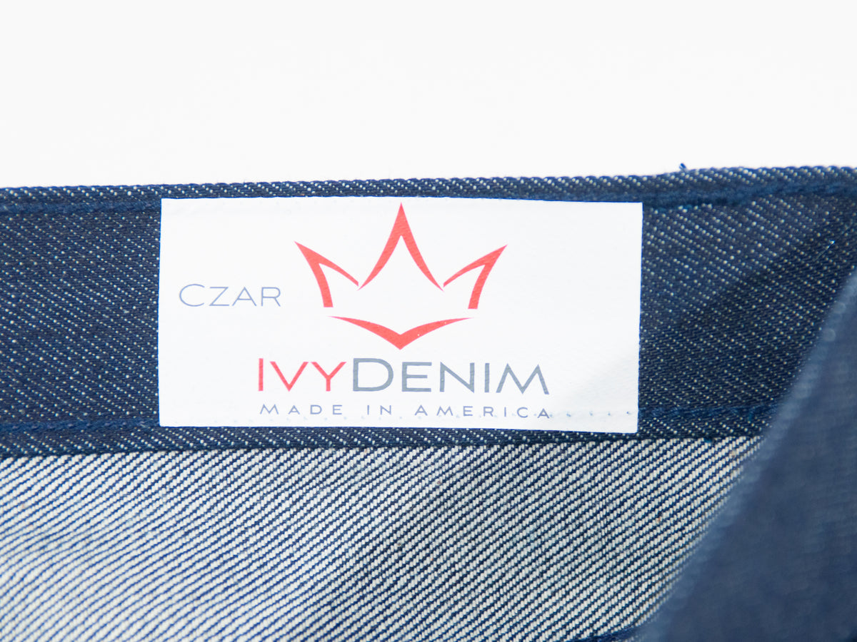 Ivy Denim Limited Edition Czar Button Fly Selvedge Jeans