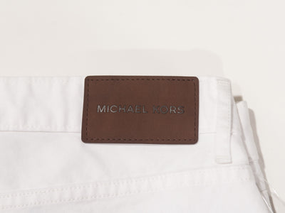 Michael Kors NWT White Tailored Classic Fit Jeans