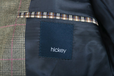Hickey Freeman Grey Prince of Wales Check NYO Blazer