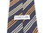 Cerruti 1881 Grey Striped Cotton Blend Tie