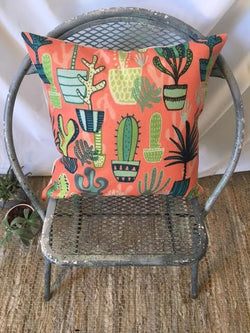 Cactus Coral Pillow Cover