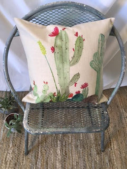 Cactus Fields Pillow Cover