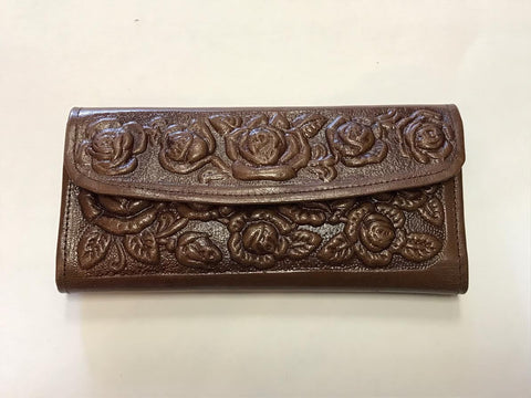 Mexico City Wallet in Brown
