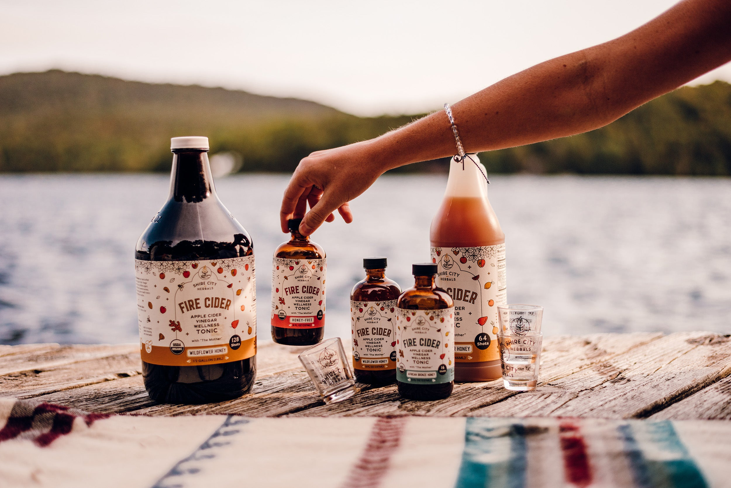 Fire Cider - full range of products for retailers