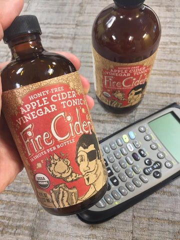 Fire Cider, back-to-school, apple cider vinegar tonic, acv