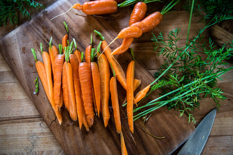 Roasted Carrots, Fresh Carrots, Fresh Produce