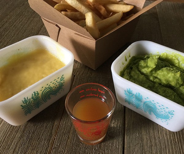 Fire Cider Mayonnaise and Vegan Fire Cider Mayo make great alternate sauces for your favorite french fries!