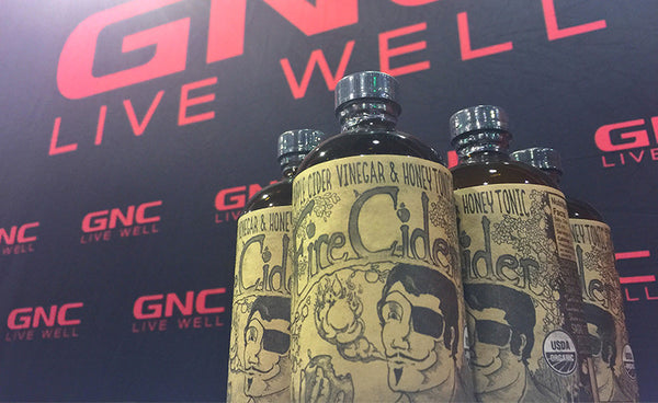 Fire Cider is now available at GNC locations nationwide!