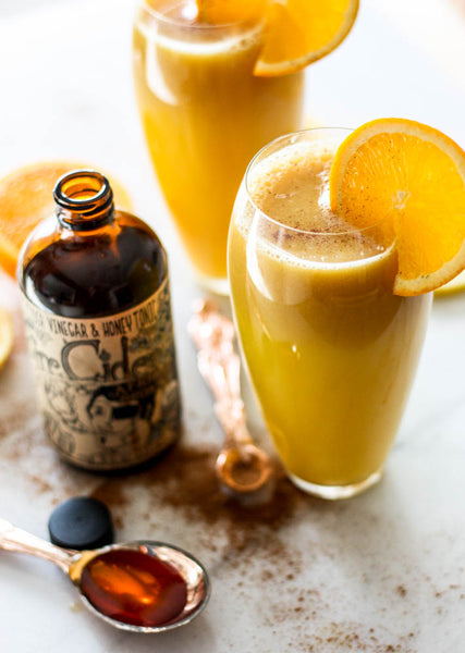 Citrus Fire Zinger with Fire Cider