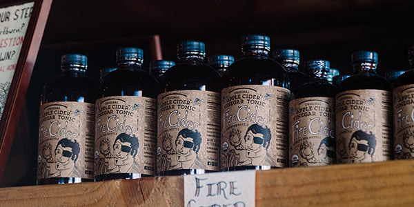 Fire Cider started out on just s few local shelves before going global!