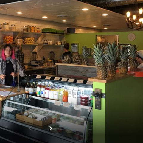 Sip Organic Juice Bar in Grand Rapids - Fire Cider Retailer of the month October 2019