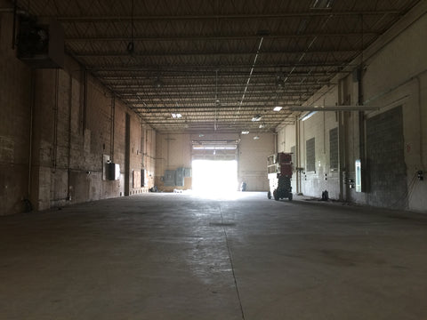 The empty warehouse is a blank canvas at the new home of Fire Cider