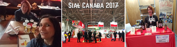 Team Fire Cider at the Sial Canada Show in May 2017