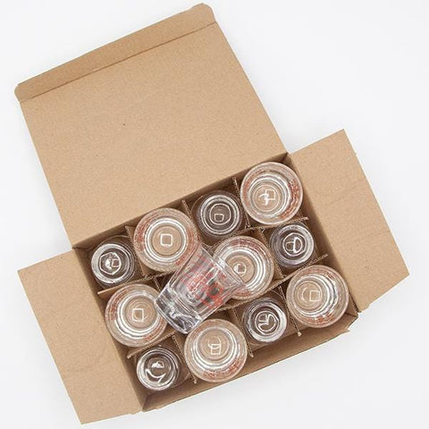 12 pack of Fire Cider Shot Glasses