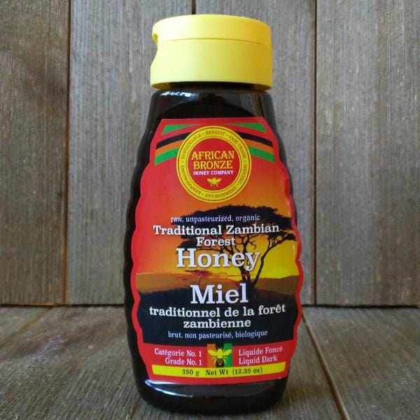 African Bronze honey 350g/12.35 oz squeeze bottle
