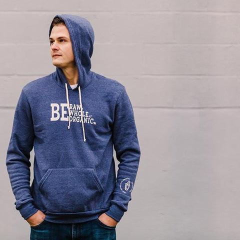 Fire Cider unisex hoodie, navy, front